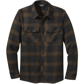 Outdoor Research Sandpoint Flannel LS Shirt Men black plaid